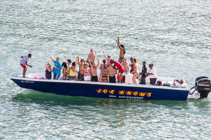 Boat Party in St. Lucia