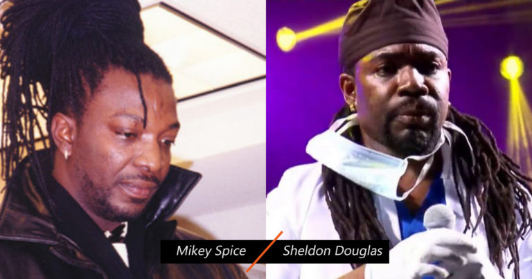 Mikey Spice and Sheldon Douglas